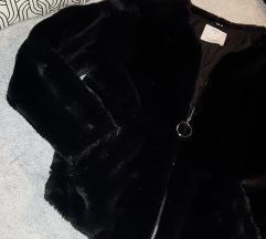 Bershka fekete szőrme kabát 🖤 LEÁRAZTAM!