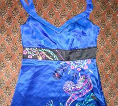36-os pántos női selyem felső, top, nyári blúz