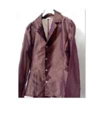 1 x viselt, lila és pink alkalmi blézer (38)