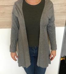 Szürke Amisu lógós pulóver
