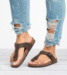 Barna flip-flop papucs ÚJ