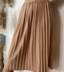 Pull & Bear pliszírozott  szoknya
