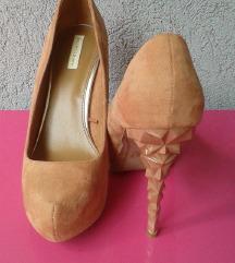 Púder design sarkú platform cipő