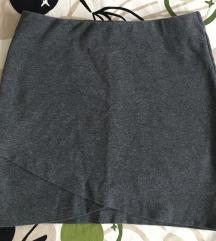 H&M szoknya és Bershka rövidnadrág
