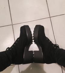 Cropp nagytalpú bakancs/cipő