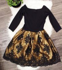 Rouge arany - fekete ruha