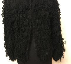 Szőrmés kabát/kardigán