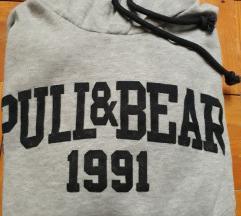 Pull&bear bebújós kapucnis pulcsi