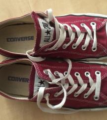 Converse tornacipő bordó 40es