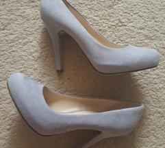 Deichmann szürke magassarkú cipő 36,5