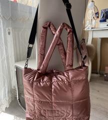 Új Guess nagyméretű rosegold női táska