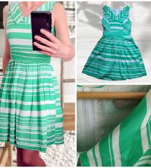 ORSAY zöld-fehér ruha