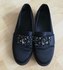 Deichmann köves szatén cipő