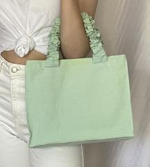 Mentazöld táska