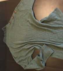 Stradi S-es zöld pulcsi