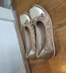 Lasocki bőr arany/nude balerina  38