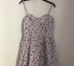 H&M Virágos ruha M