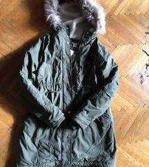 H&M bélelt kismama téli kabát