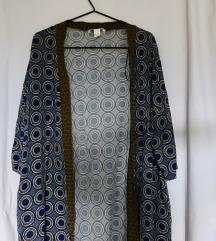 H&M mintás overcoat/kimono
