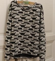 H&M mintás pulcsi