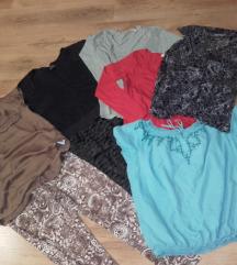 c&a h&m blúzok,,szoknya,leggings,L,újszerűek