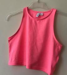 pink H&M crop top