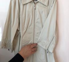 Lafei Nier bézs csontszínű elegáns őszi kabátka