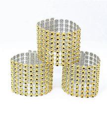 Új, bontatlan esküvői szalvétagyűrű /50 db/