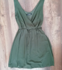 jt exclusive khaki zöld ruha M-es