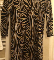 Zebra mintás ruha