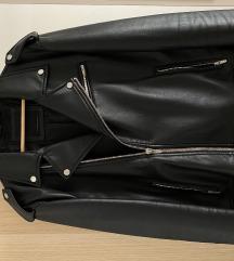 Zara fekete bőrkabát