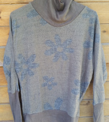 virágos vintage pulcsi