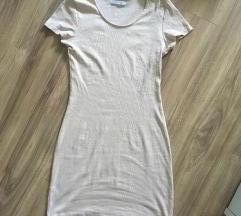 Nude bodycon ruha M-L