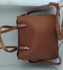 Pakolós barna táska