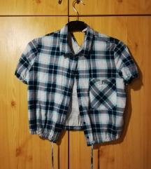 Kockás rövid ing