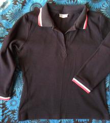 S, 36 - Fekete háromnegyedes ujjú póló - csere is