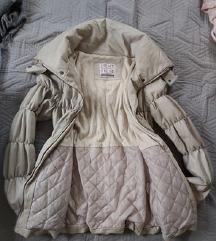 Beige téli kabát S/M