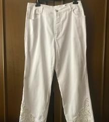 Fehér elegáns nadrág