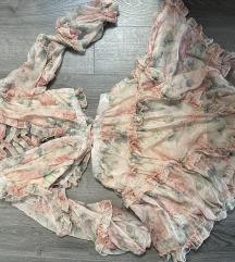Nyári virágos ruha