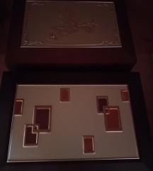 Fa ékszertartó dobozok