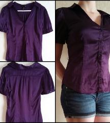 • H&M lila szatén ing •