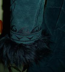 exclusive Vero Moda irha télikabát 100% bőr