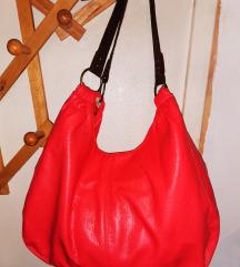 Korall színű táska