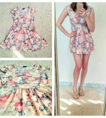 Virágos nyári ruha (S)