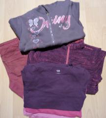 Ruhacsomag (naci+pulcsik+pólók) 134-es