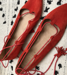Fűzős balerina cipő