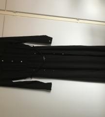 Fekete hosszú ruha S-M
