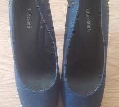 Kék színű,szegecses Graceland magassarrkú