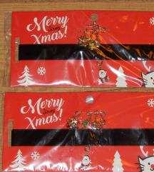 Új Sinsay mikulás-karácsonyi choker nyaklánc