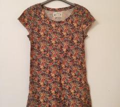 Zara virágmintás őszi póló (M) 36/38